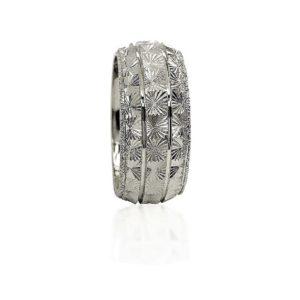 wedding band ring №425 white