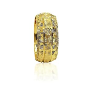 wedding band ring №425 yellow
