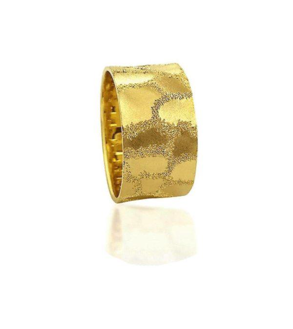 wedding band ring №426 yellow