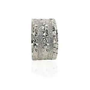 wedding band ring №427 white