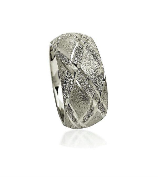 wedding band ring №500 white