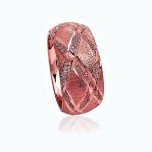 wedding band ring №500 rose