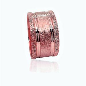 wedding band ring №505 rose