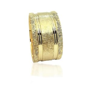 wedding band ring №505 yellow