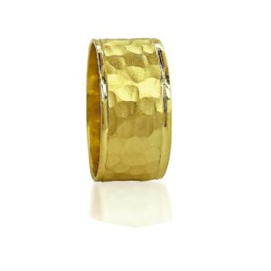wedding band ring №509 yellow