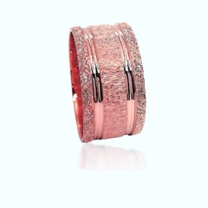 wedding band ring №510 rose