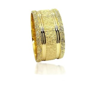 wedding band ring №510 yellow