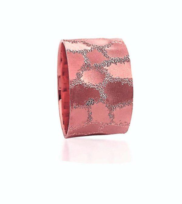 wedding band ring №511 rose