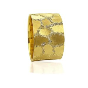 wedding band ring №511 yellow