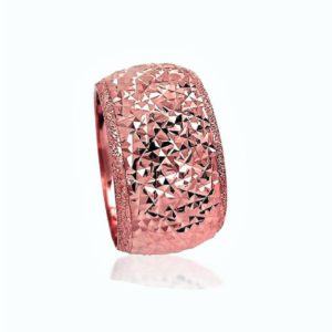 wedding band ring №513 rose