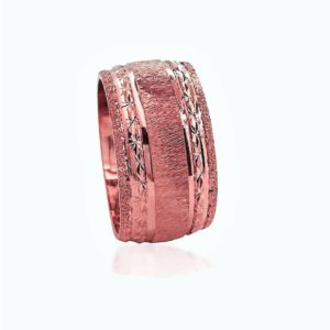 wedding band ring №514 rose