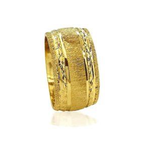 wedding band ring №514 yellow