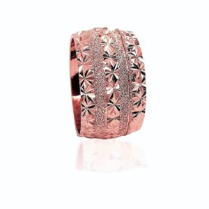 wedding band ring №517 rose