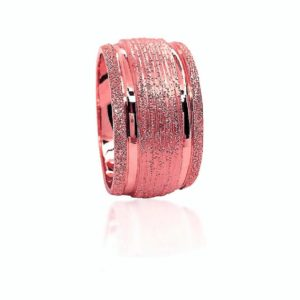 wedding band ring №518 rose