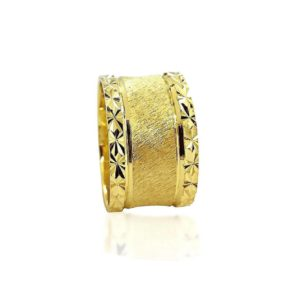 wedding band ring №520 yellow