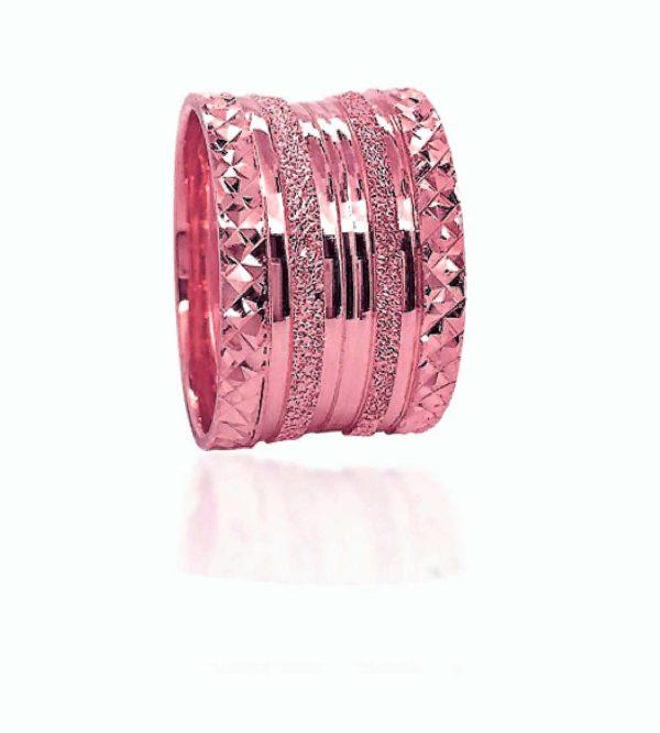 wedding band ring №521 rose