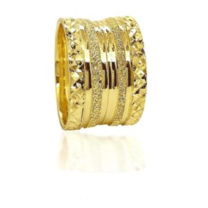 wedding band ring №521 yellow