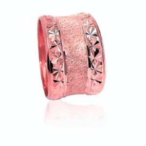 wedding band ring №522 rose