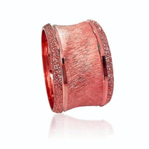 wedding band ring №524 rose