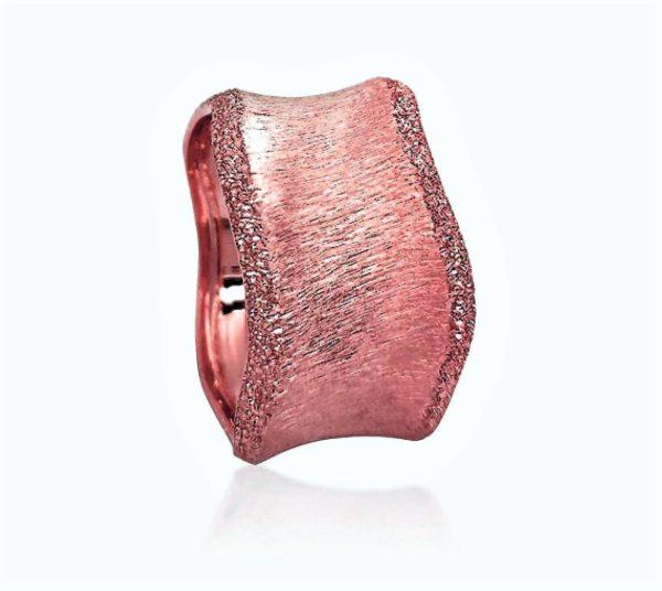 wedding band ring №525 rose