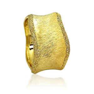wedding band ring №525 yellow