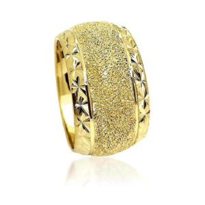 wedding band ring №600 yellow