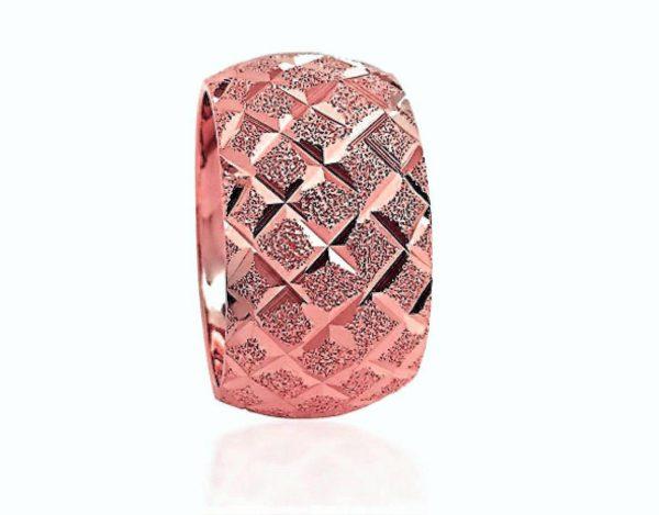 wedding band ring №601 rose