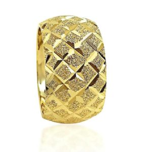 wedding band ring №601 yellow