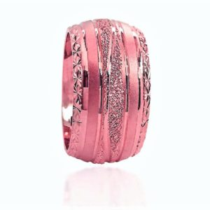 wedding band ring №602 rose