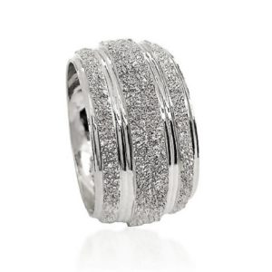 wedding band ring №604 white