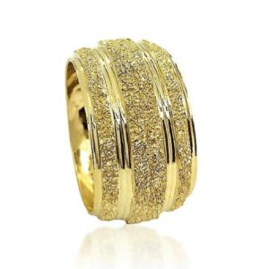 wedding band ring №604 yellow