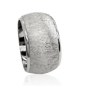 wedding band ring №605 white