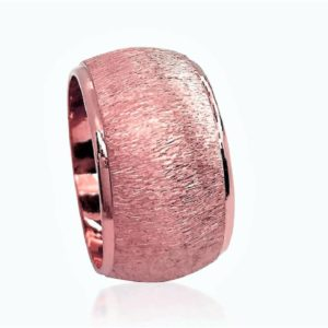 wedding band ring №605 rose