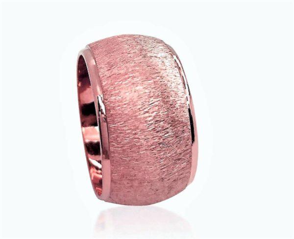 wedding band ring №605 rose