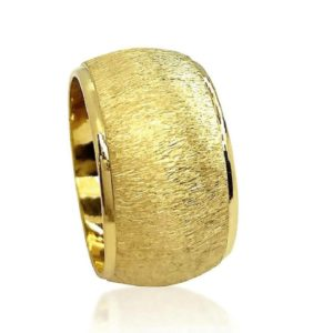 wedding band ring №605 yellow