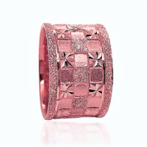 wedding band ring №606 rose
