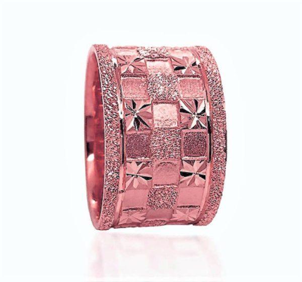wedding band ring №606 rose
