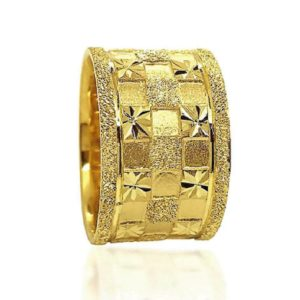 wedding band ring №606 yellow
