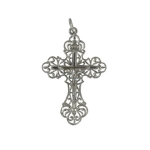 cross crucifix elegant openwork