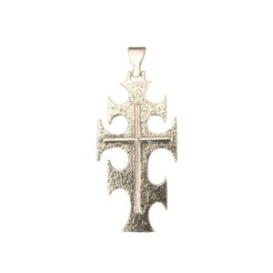 kabatan cross matting pendant