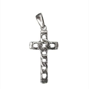 modern gothic chain cross