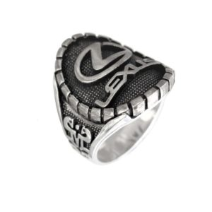 car fan man ring logo L