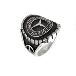 car fans man ring logo M