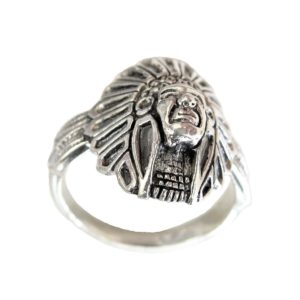 Ring men Small Indian head
