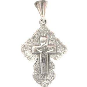 Cross ornament princely slavic orthodox