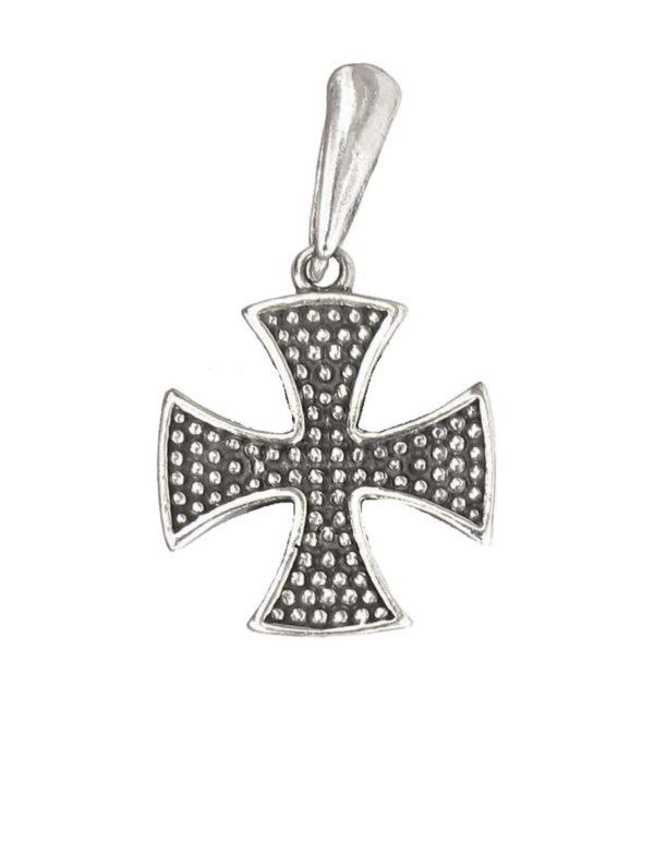 German cross pendant with grain