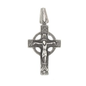 cross crucifix Calvary reverse side prayer
