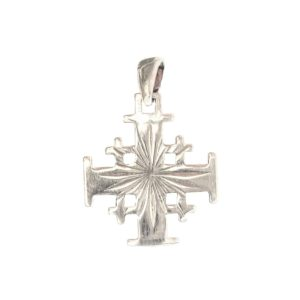 Jerusalem cross diamond star