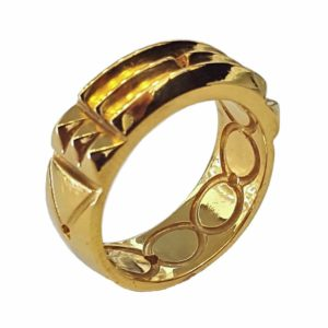 Atlantis ring Total 24k gold Plating