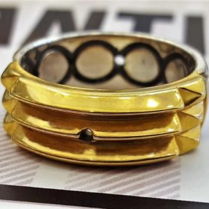 Atlantis ring Partial 24k gold Plating